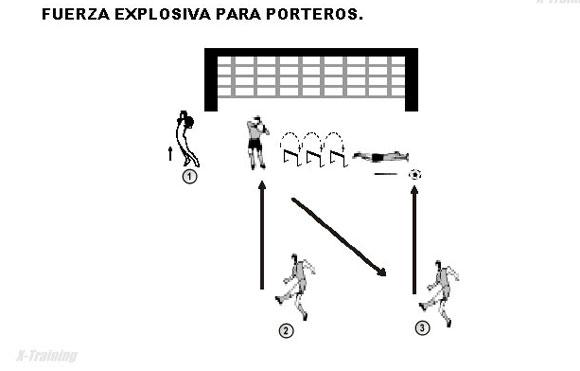 Fuerza Explosiva Para Porteros Porteros Trabajos Prácticos Rubens Valenzuela Preparación Física En El Fútbol